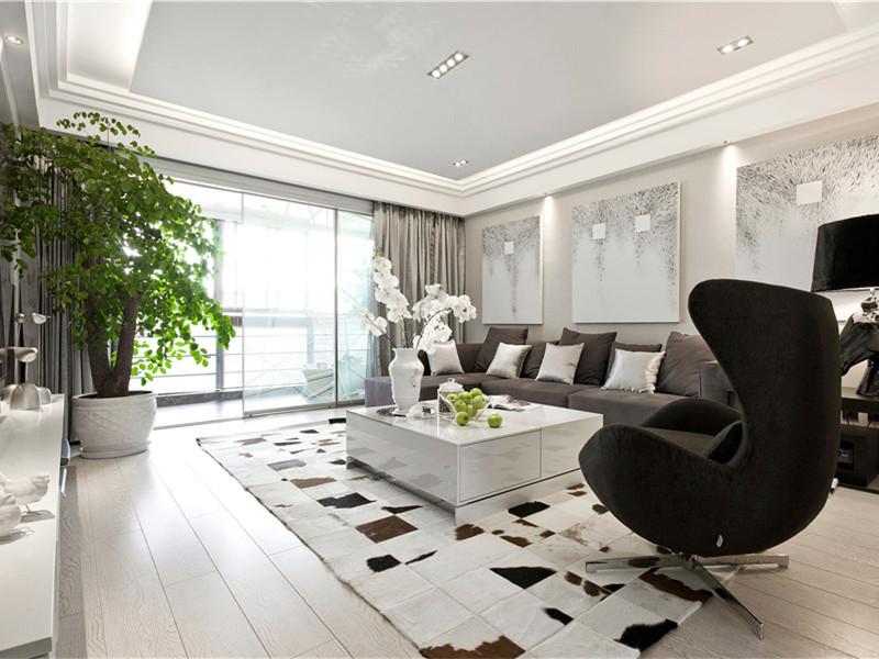 简约 客厅图片来自武汉生活家在百瑞景125平现代简约的分享