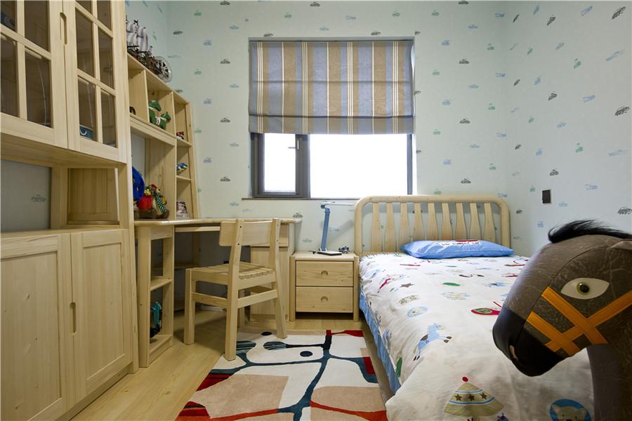 简约 儿童房图片来自武汉生活家在百瑞景125平现代简约的分享