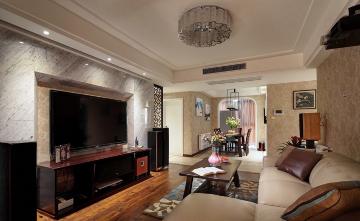 3室1厅110.0平米中式风格