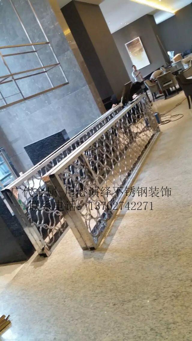简约 欧式 田园 混搭图片来自广代金属在南昌五湖酒店不锈钢装饰项目的分享