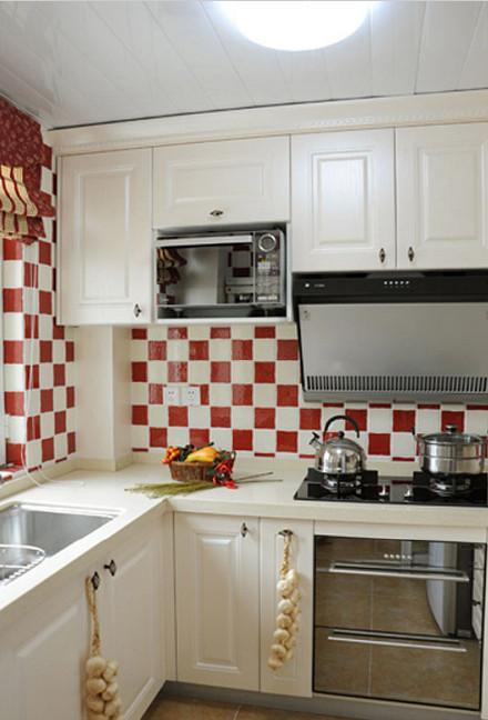 厨房图片来自武汉生活家在保利香槟98.65美式风格的分享