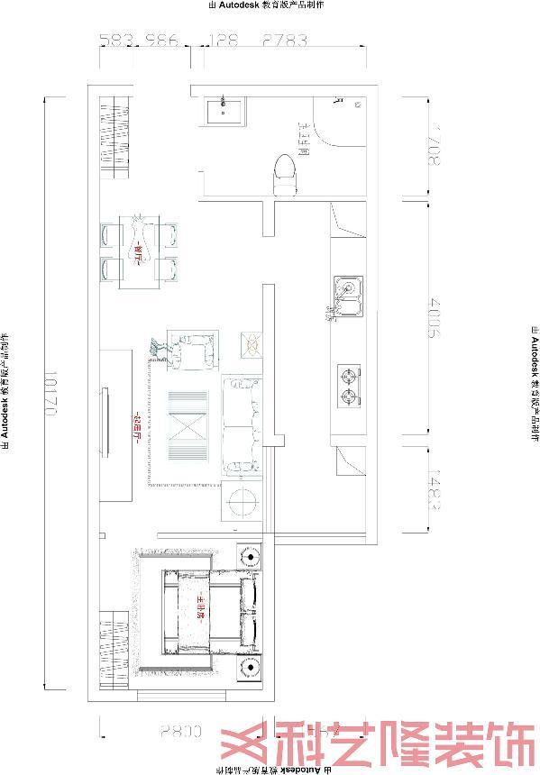 这组设计作品中采用的是现代简约风格,客厅布局是简约的沙发组合,经典的灰褐色的沙发组合配以简约的茶几和金属配饰,整个客厅就更加得符合和简约的设计风格.
