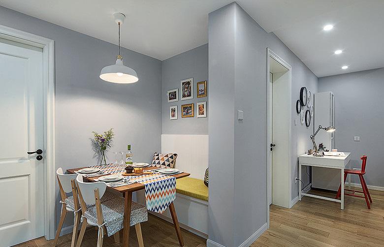 餐厅图片来自家装大管家在小空间大乾坤 74平北欧混搭空间的分享