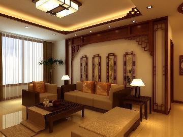京尚装饰-北宁湾-中式两居98㎡