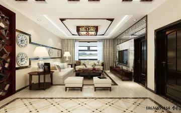 龙景逸墅141平米-中式风格