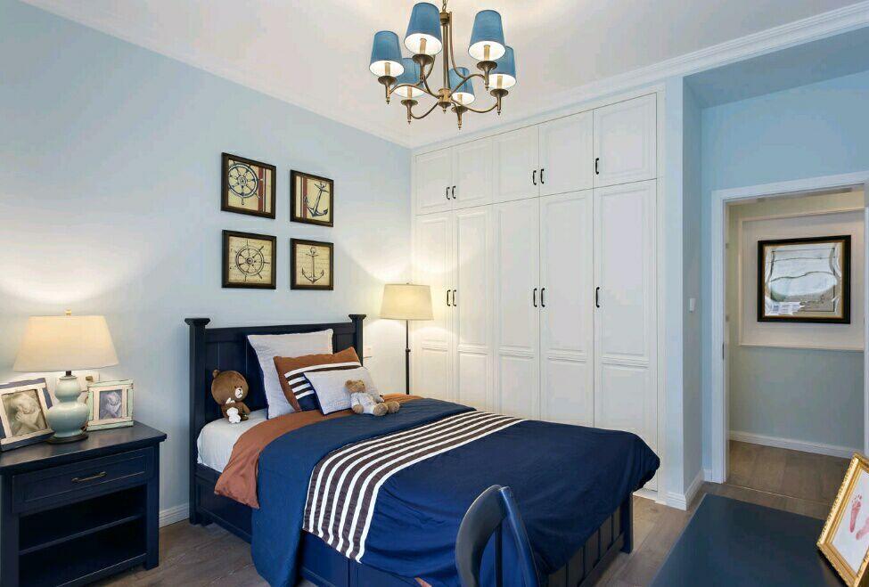菩提苑 150平 美式风格 四居室 嘉年华装饰 卧室图片来自武汉嘉年华装饰在菩提苑-美式风格的分享