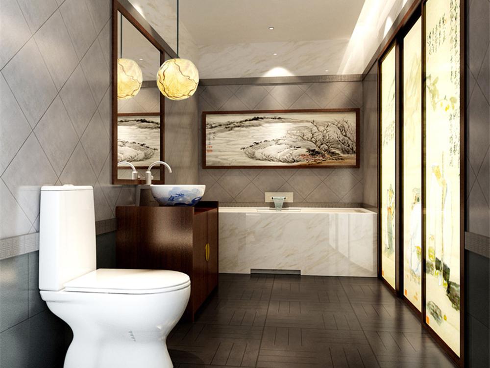中式 典雅 古朴 古风 三居 卫生间图片来自tjsczs88在高雅古朴,稳重大方的分享
