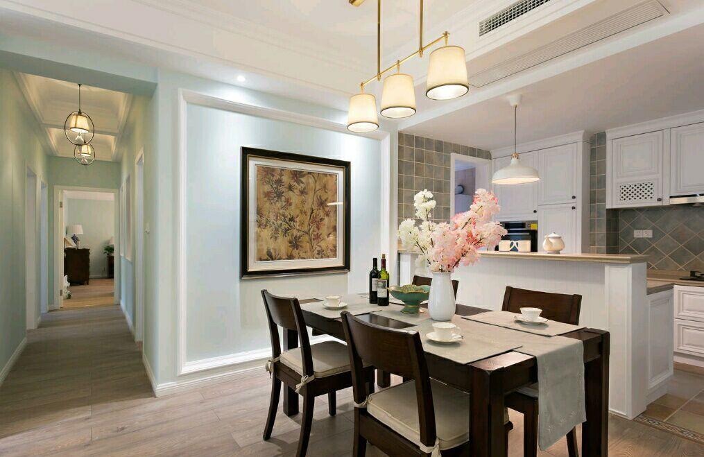 菩提苑 150平 美式风格 四居室 嘉年华装饰 餐厅图片来自武汉嘉年华装饰在菩提苑-美式风格的分享