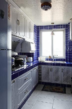 二居 地中海 80后 厨房图片来自今朝装饰张智慧在地中海之首开缇香郡的分享