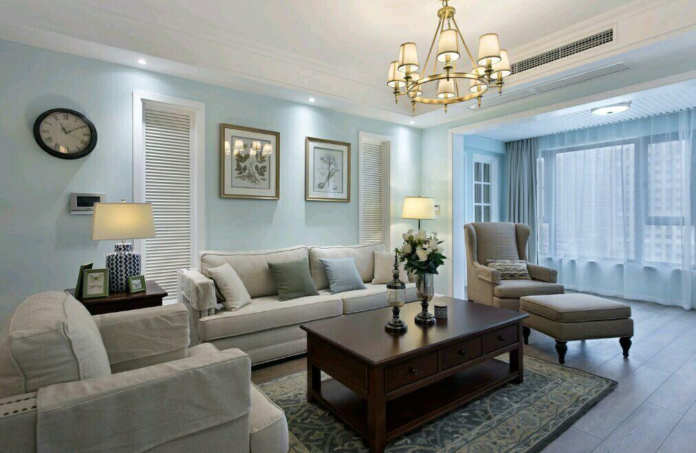 菩提苑 150平 美式风格 四居室 嘉年华装饰 客厅图片来自武汉嘉年华装饰在菩提苑-美式风格的分享