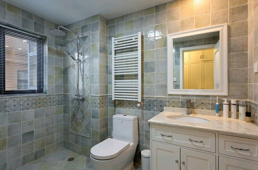 菩提苑 150平 美式风格 四居室 嘉年华装饰 卫生间图片来自武汉嘉年华装饰在菩提苑-美式风格的分享