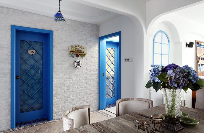 二居 地中海 80后 餐厅图片来自今朝装饰张智慧在地中海之首开缇香郡的分享