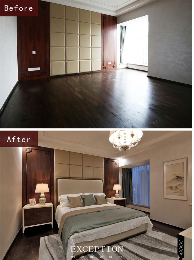 别墅设计 室内设计 软装设计 豪宅设计 时尚生活 客厅设计 卧室设计 卧室图片来自例外软装设计在秀逸璞居--深圳东海花园软装设计的分享