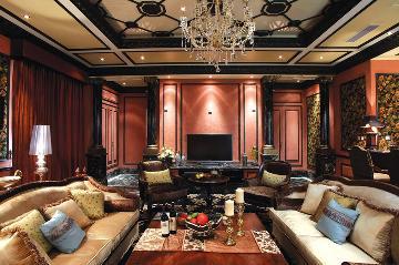 1200平方米古典欧式风格