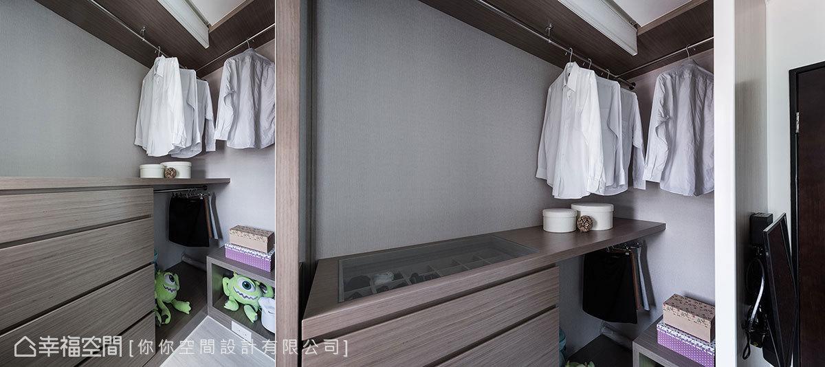 简约 北欧 二居 收纳 衣帽间图片来自幸福空间在打造多功能精巧小屋的分享