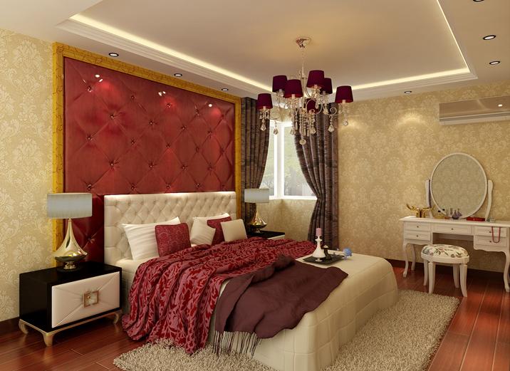 三居 白领 收纳 80后 小资 简约 卧室图片来自实创装饰完美家装在首开缇香郡120平完美家装欧式的分享