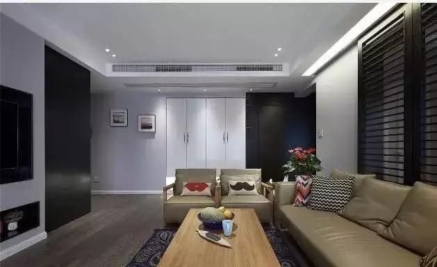 简约 欧式 田园 现代 混搭 二居 三居 别墅 客厅 客厅图片来自实创装饰晶晶在120㎡成熟稳重三居室的分享