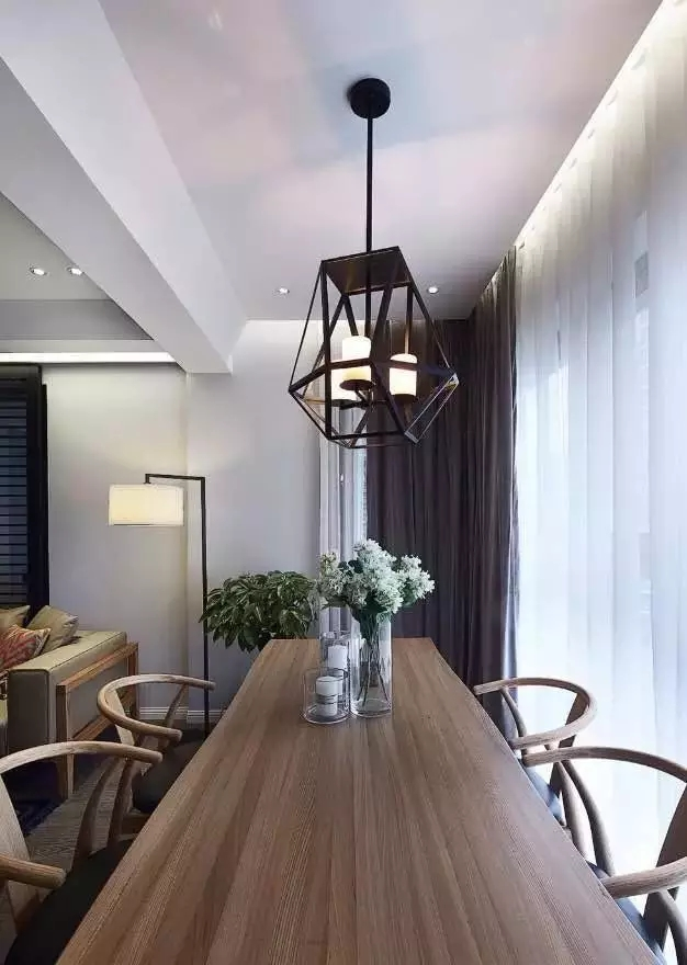 简约 欧式 田园 现代 混搭 二居 三居 别墅 客厅 餐厅图片来自实创装饰晶晶在120㎡成熟稳重三居室的分享