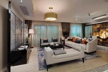 170平新中式三居小豪宅!