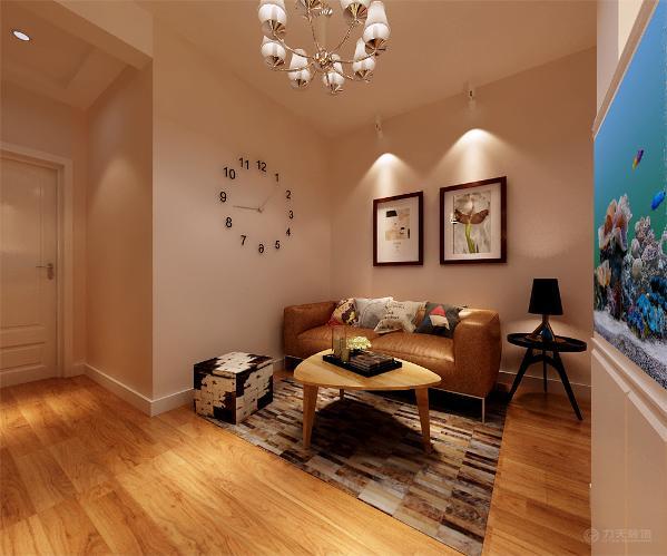 此居室整体采用中性色调,稳重、大气,却又不失品位,有令人眼前一亮的感觉,最重要的是强调功能性设计,线条简约流畅,色彩对比强烈。