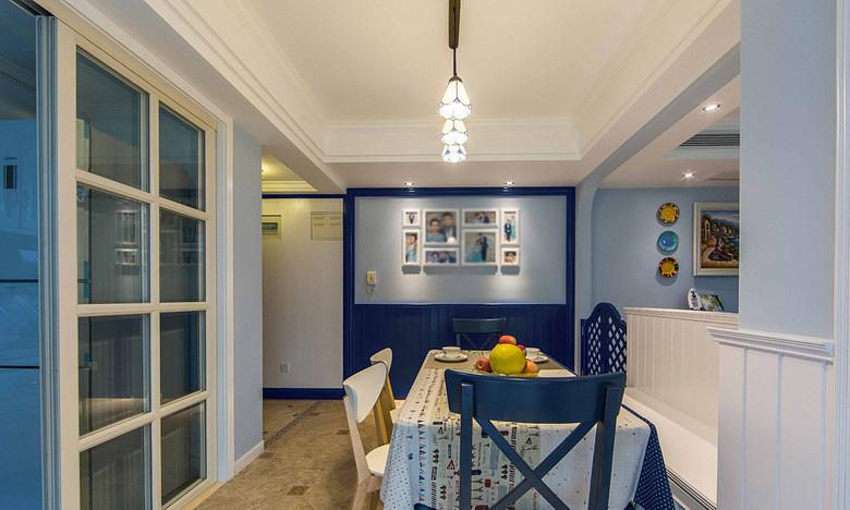 餐厅图片来自家装大管家在88平地中海风格居 静谧蔚蓝港湾的分享