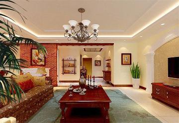 阳光波尔多248平美式完美家装