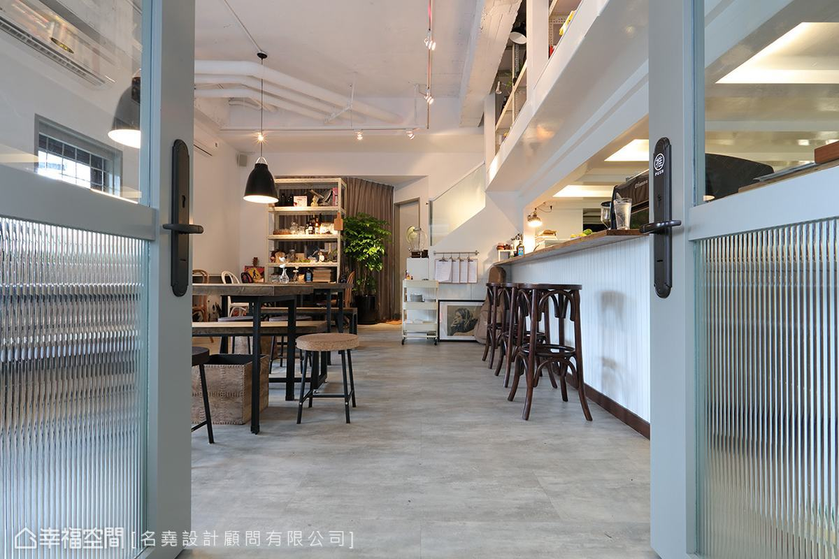 餐饮空间 工业 咖啡厅 小清新 餐厅图片来自幸福空间在小清新质感 轻工业咖啡厅的分享