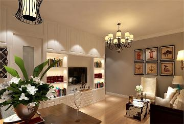 三里河东路72平完美家装效果图