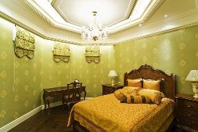 美式 古典 温馨 时尚温馨 舒适自然 卧室图片来自北京紫禁尚品国际装饰kangshuai在北京紫御华府的分享