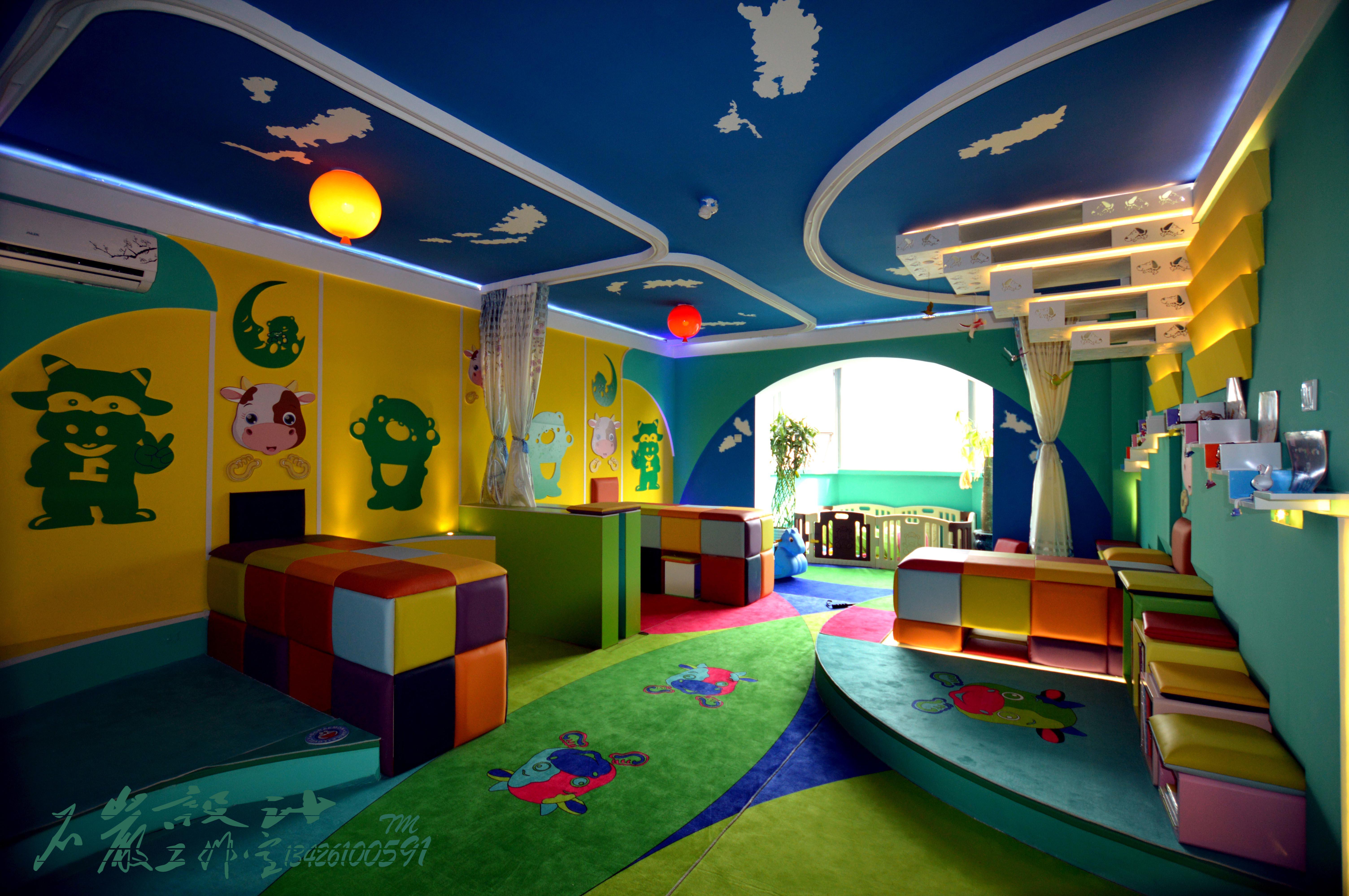 旧房改造 田园 混搭 简约 其他图片来自岩然创意在儿童色彩乐园(小儿推拿室)的分享