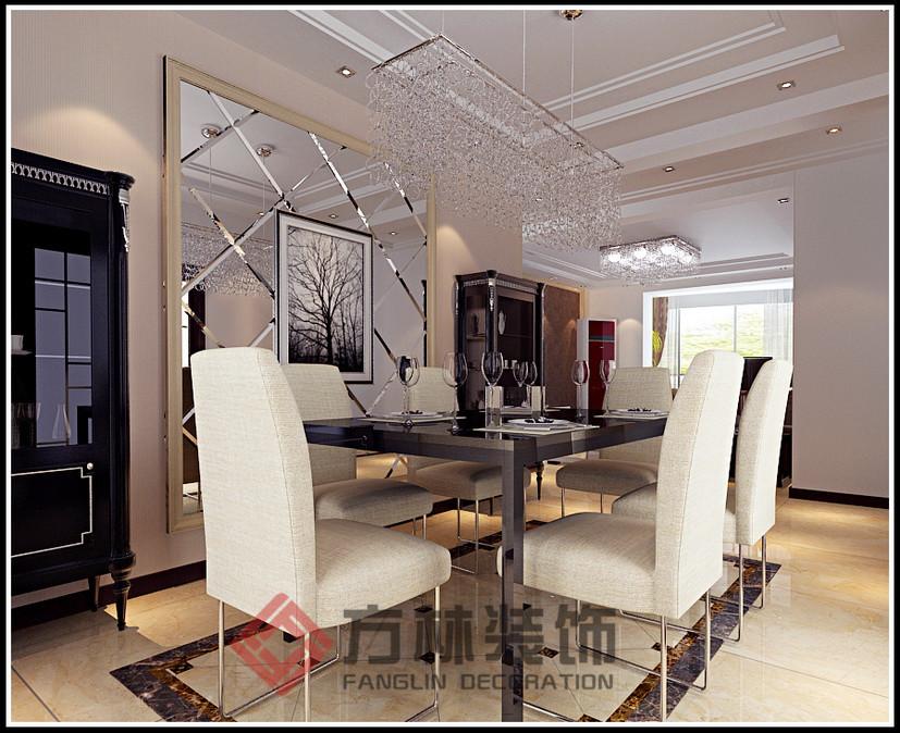简约 混搭 白领 收纳 80后 小资 餐厅图片来自方林装饰在名流公馆135现代风格装修案例的分享