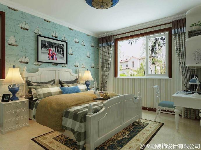 简约 欧式 三居 卧室图片来自今朝装饰张智慧在奥北公元简欧风格的分享
