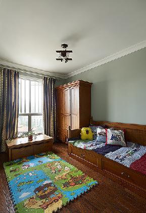 新古典 小资 装修实景 80后 三居 儿童房图片来自武汉苹果装饰在苹果装饰 保利茉莉公馆的分享