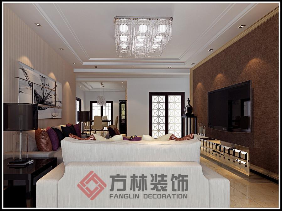 简约 混搭 白领 收纳 80后 小资 客厅图片来自方林装饰在名流公馆135现代风格装修案例的分享