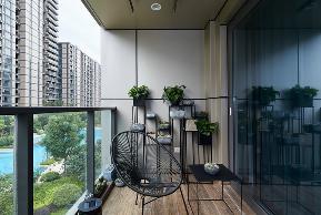 混搭 别墅 小资 田园 欧式 阳台图片来自莫大装饰在莫大装饰的分享