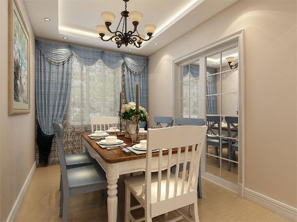 客餐厅没有用门阻挡,使空间更加敞亮,采光更好,美观大方,使用感舒适又便于清洗。
