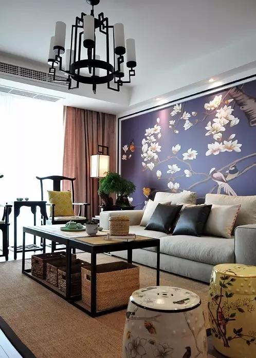 简约 欧式 田园 混搭 中式 二居 三居 别墅 客厅 客厅图片来自实创装饰晶晶在145平新中式雅居太赞了的分享
