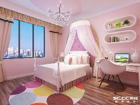 三居 港式 樱花郡 实创 儿童房图片来自快乐彩在三居室的港式设计,樱花郡140平的分享