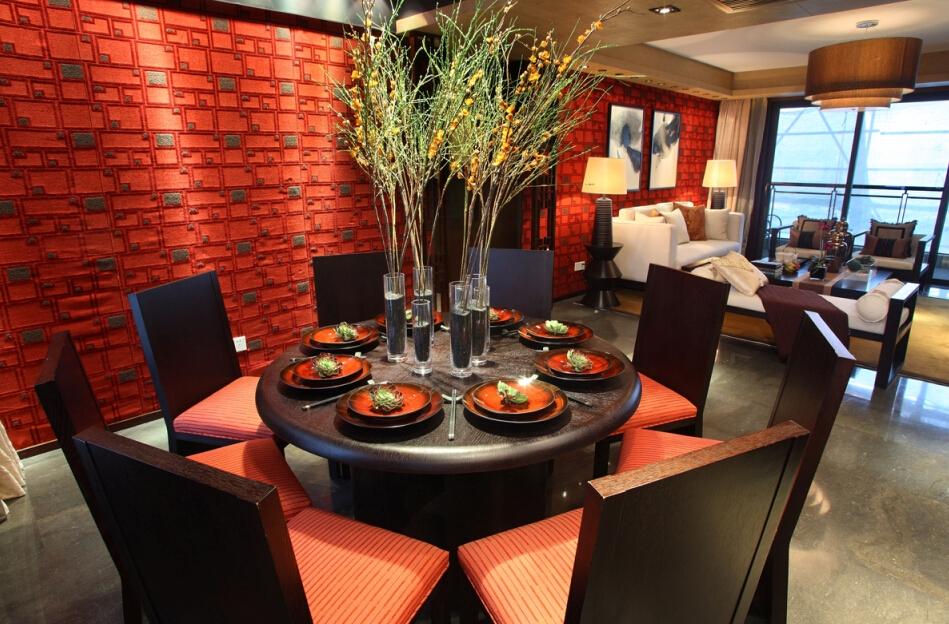 新古典 现代 简约 温馨 时尚 前卫 餐厅图片来自北京紫禁尚品国际装饰kangshuai在北京保利春天里的分享