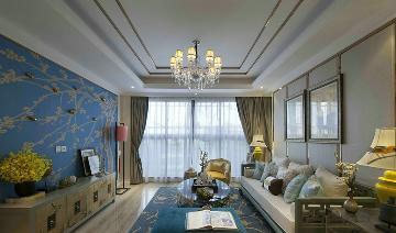 金隅翡丽蓝爵堡新中式设计案例