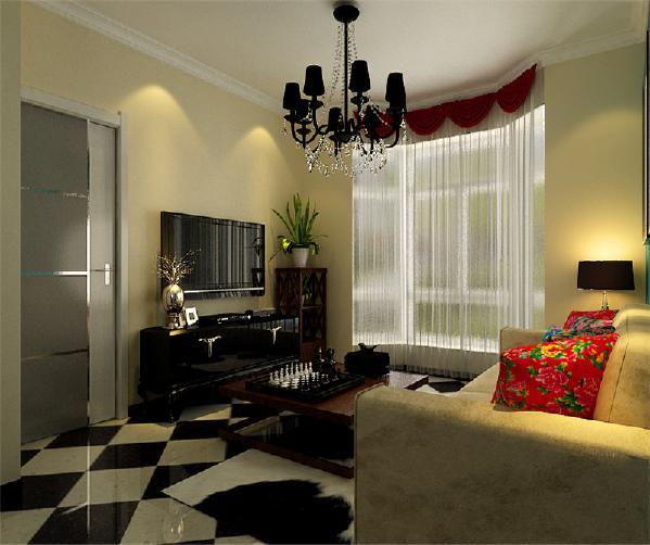 本案在各个空间充分运用色彩的魅力,大胆选用各种纯色,并搭配多元素的家具及软装配饰。