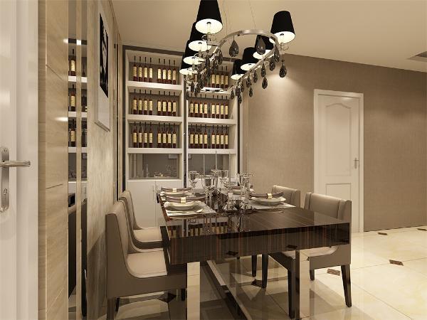 更体现现代简约之感,创造温馨,健康的居家体验。厨房与餐厅为非开放式,隔绝油烟,设计很人性化。