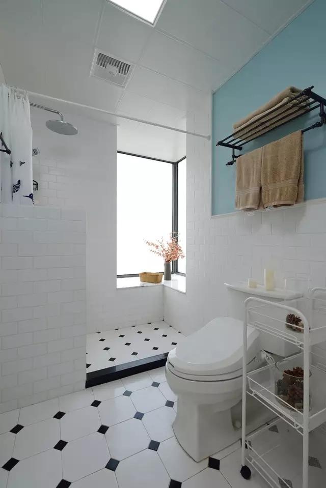 卫生间图片来自日升装饰秋红在120平米混搭风格的分享