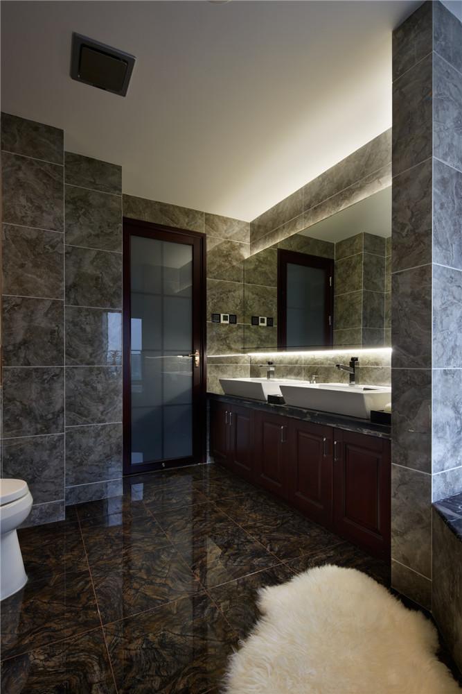 简约 中式 三居 卫生间图片来自张勇高级室内设计师在润枫领尚中式设计案例效果展示的分享