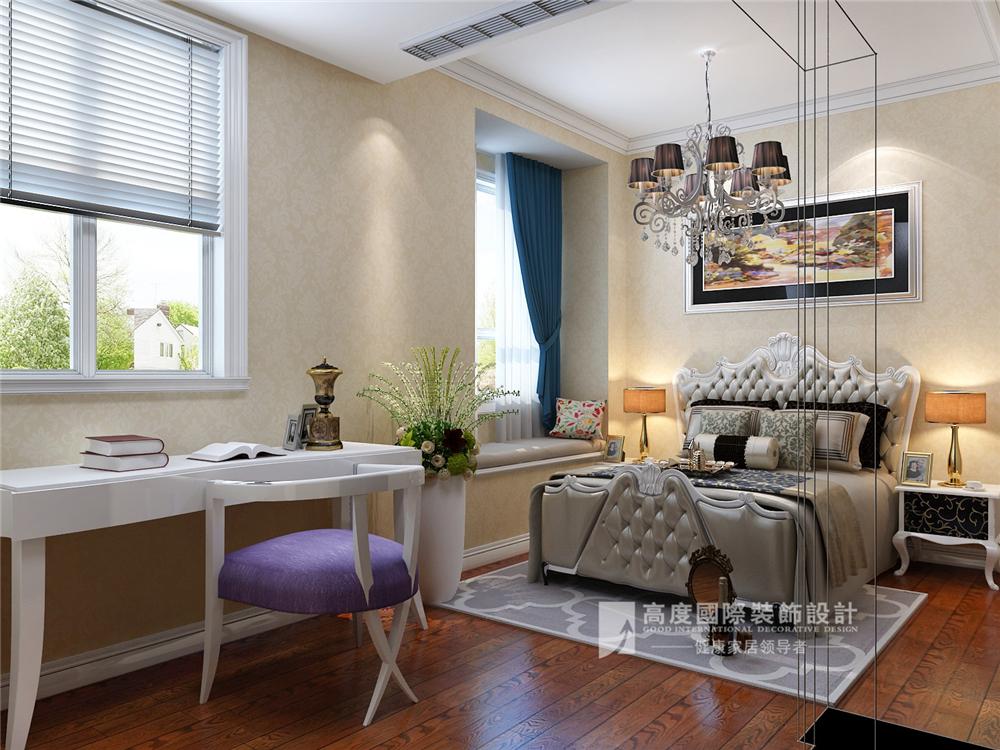 简约 欧式 混搭 田园 别墅 收纳 旧房改造 80后 小资 卧室图片来自周楠在富春玫瑰园-300平方简欧风格的分享