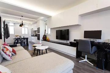 80㎡现代简约一居室