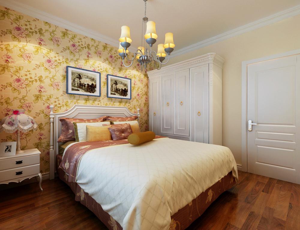 三居 混搭 欧式 田园 卧室图片来自天津京尚装饰在京尚装饰-观锦-混搭三居137㎡的分享