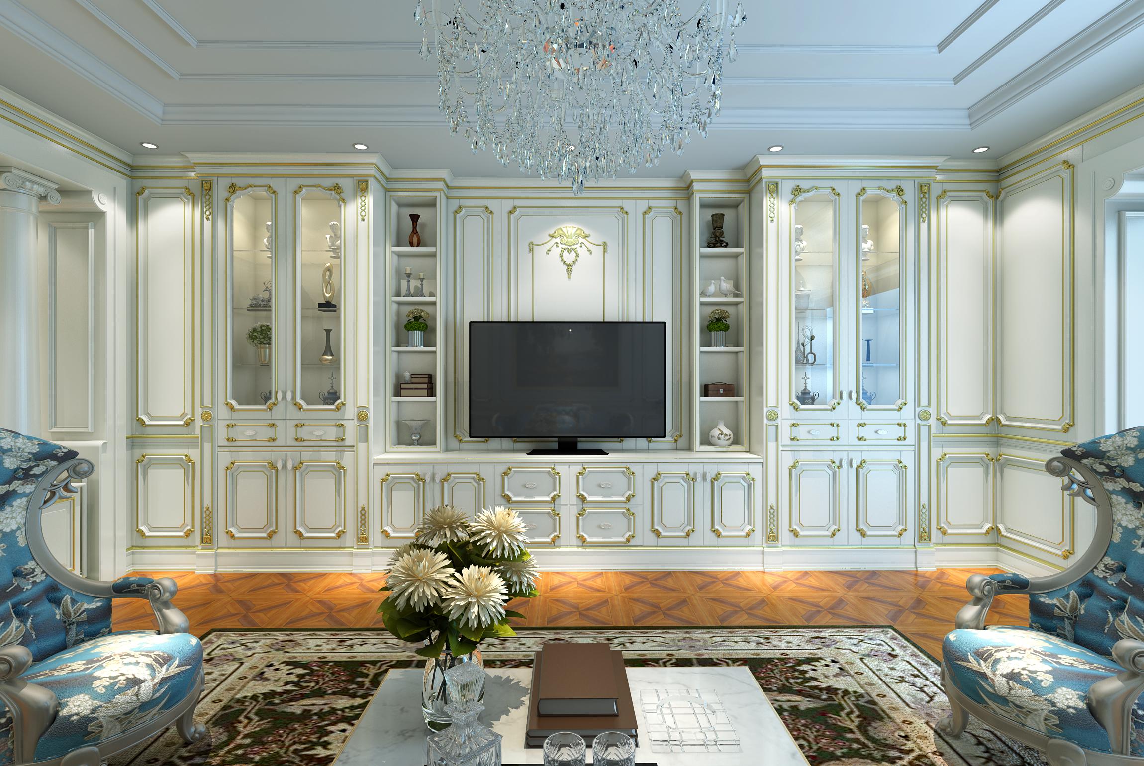 三居 白领 法式 奢华 新古典 客厅 卧室图片来自玛格全屋定制在法式新古典的分享