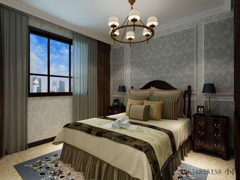 欧式 三居 80后 卧室图片来自装家美在奥龙湾180平米-欧式风格效果图的分享