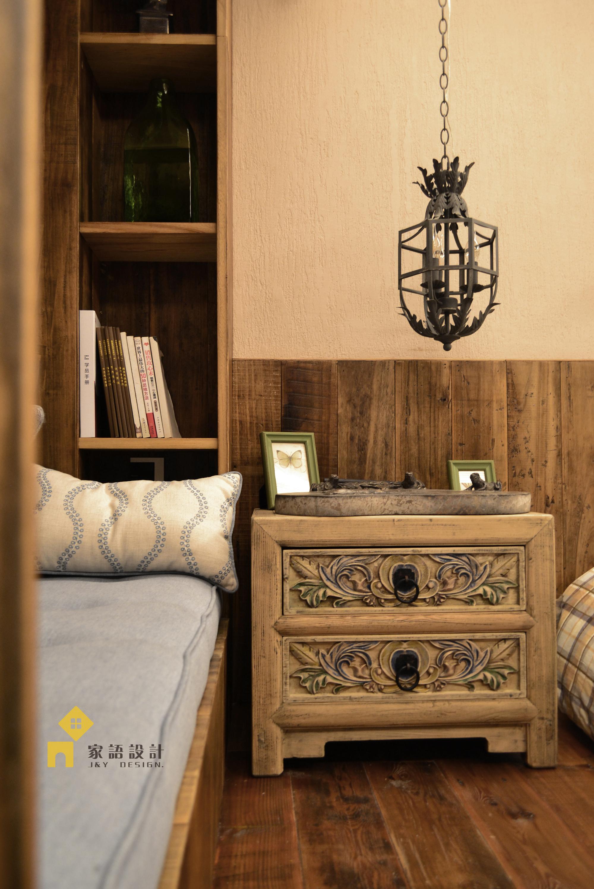卧室图片来自家语设计张海妮工作室在质朴是生活最好的模样的分享